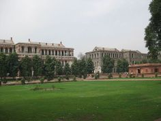 """Hayat Baksh Bagh #Delhi - #Hayat_baksh_bagh is a garden that is situated at the #northern side of the #red_fort. There are two other structure """"#Red_Zafar_Mahal and white #Sawan/Bhadon pavilion"""" hich are built in the Hayat Bakhsh Bagh by #Bahadur_Shah II. All these structure truly enhance the beauty of the fort."""