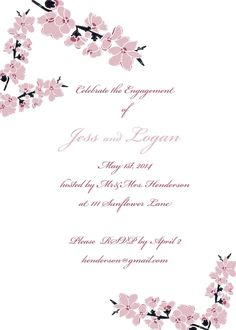 Engagement party invites www.whatdoyousaydear.com