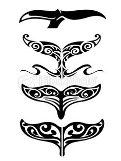 whale tail tattoo - Google Search