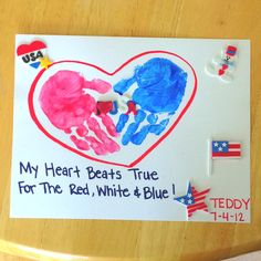 """""""My Heart Beats True, For The Red, White & Blue"""""""