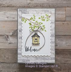 Image C, Cardmaking And Papercraft, House Of Cards, Bird Houses, Stampin Up, New Homes, Paper Crafts, Contour, Garden