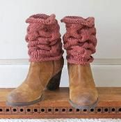Cabled Leg Warmers - via @Craftsy