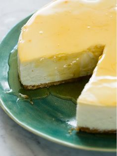 Goat Cheese and Honey Cheesecake | Spoon Fork Bacon