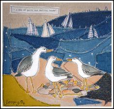 Gulls and sailing boats... Loopy