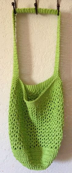 Summer Mesh Market Tote Bag by SpiderCreations on Etsy, $15.00