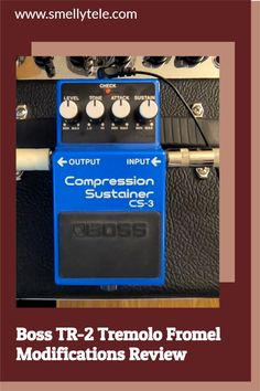 Hi All! I recently completed the Fromel Electronics modifications to a Boss CS-3 Compression Sustainer pedal! If you've considered this upgrade, I highly recommend it. Guitar Reviews, Gift Guide, Guitars, Boss, Electronics, Music, Musica, Musik, Muziek