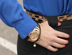 Divina Ejecutiva: Mis Looks - Blazer snake print