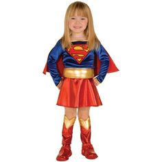 Supergirl Toddler Costume - Kids Costumes