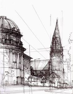Fredry Street (Poznan). Łukasz Gać