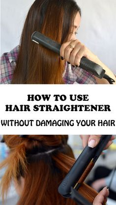 How to Use Hair Straightener without Damaging Your Hair