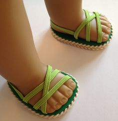 NEW One pair of sandals made to fit 18 inch American Girl