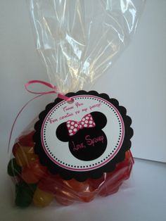 minnie mouse party favors ideas | Minnie Mouse Party Favor Bags on Luulla