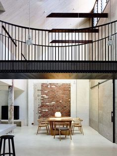 Image 17 of 20 from gallery of Fitzroy Loft / Architects EAT. Photograph by Architects EAT Loft Estilo Industrial, Industrial Interior Design, Industrial House, Modern Interior, Industrial Style, Industrial Bedroom, Vintage Industrial, Contemporary Architecture, Interior Architecture