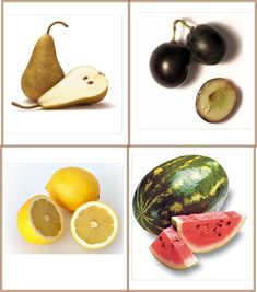 Fruit And Veg, Fruits And Vegetables, Image Fruit, Math Numbers, Montessori Materials, Study Materials, Preschool Crafts, Cards, Blogg