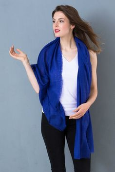Cashmere Gauze Stole  from Kettlewell available in loads of colours £89