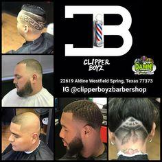Get a fresh new look today at Clipper Boyz Barbershop.