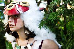 Meagan-Marieis San / Princess Mononoke | Costume by Anna Fischer