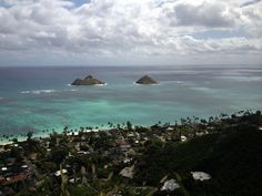 A favorite past time for me! Come to Hawaii and play outside all year round. Lanikai Pillbox Hike