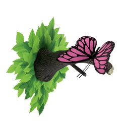 3D Deco Wall Light Butterfly