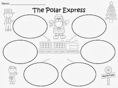 Free: The Polar Express Bubble Maps (based on the story by Chris Van Allsburg).  For Educational Purposes Only...Not For Profit. Enjoy! Regina Davis aka Queen Chaos at Fairy Tales And Fiction By 2.