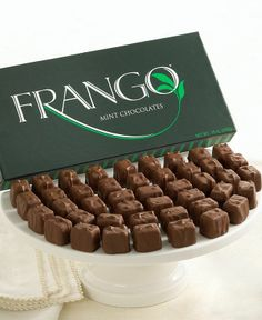 MARSHALL FIELD'S Frango Mints...it's a Chicago thing