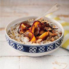 Multigrain apple porridge