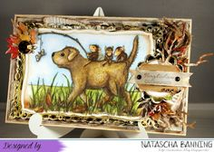 House Mouse Design birthday card http://nataschas-blog.blogspot.de/2016/10/house-mouse-and-friends-monday.html
