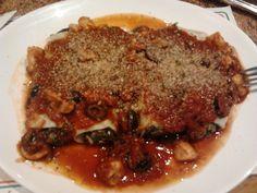 Cannelloni con Salsa Diabla (Pizza Napoli / Santiago / Chile).