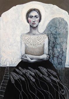 StencilGirl Talk: Mixed Media Portrait with StencilGirl Guest Artist Annie Hamman