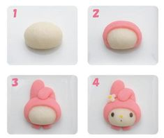Shared by ♡♡♡. Find images and videos about cute, food and sanrio on We Heart It - the app to get lost in what you love. Clay Art Projects, Polymer Clay Projects, Diy Clay, Clay Crafts, Diy And Crafts, Polymer Clay Ring, Cute Clay, Clay Creations, Clay Earrings