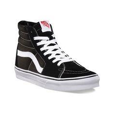 Vans Sk8-Hi Top Sneaker (€51) ❤ liked on Polyvore featuring shoes, sneakers, vans, casual shoes, vintage high top sneakers, high top shoes, grip trainer, canvas sneakers and hi top canvas sneakers