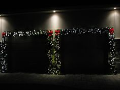 Evening check ups every week! // Christmas Décor by Nutri-Lawn