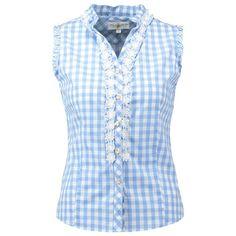 Bluse mit Häkelbesatz - Die feminine #Bluse lässt sich super zu einer #Lederhose kombinieren ♥ ab 39,95 €