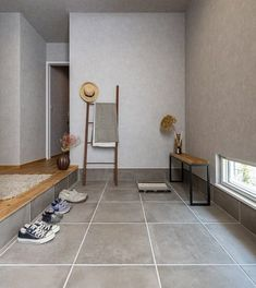 House Design, Furniture, Interior, New Homes, Front Door Design, Home Decor, Shoe Room, House Interior, Japanese Modern House