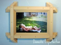 Broken Blinds Picture Frame — Domestic Imperfection