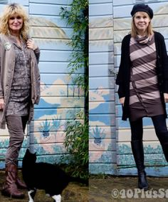 Clothing styles for over 40 and other info. love this site!