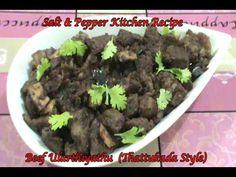 Beef Ularthiyathu (Thattukada style)