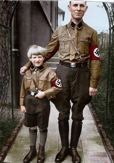 German father & son CIRCA 1930