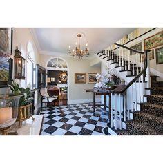 Curved Staircase, Staircase Design, Black Staircase, Entryway Flooring, Entryway Decor, Entryway Stairs, Home Interior, Interior Styling, Interior Stairs
