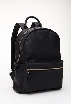 96d6eb8d82 Classic Faux Leather Backpack