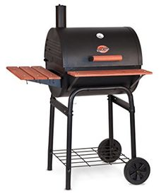 Char-Griller 2123 Wrangler 635 Square Inch BBQ Charcoal Grill / Smoker -- New Charcoal Grill Smoker, Portable Charcoal Grill, Best Charcoal Grill, Bbq Charcoal, Bbq Grill Parts, Barbecue Smoker, How To Clean Bbq, Charcoal Briquettes, Outdoor Cooking