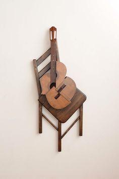 Elegant Sculptures Formed From Deconstructed Instruments - My Modern Metropolis