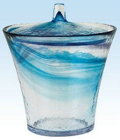 Glass mizusashi for summer Water jug & Basin #138461