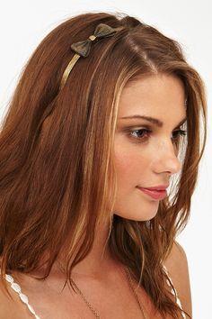 Metal Bow Headband
