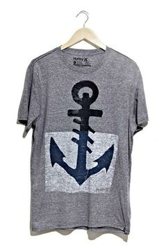 Perfect for the beach   Anchor Shirt from Hurley