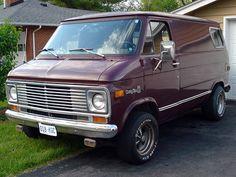 custom vans | 70s Custom Van Chevy