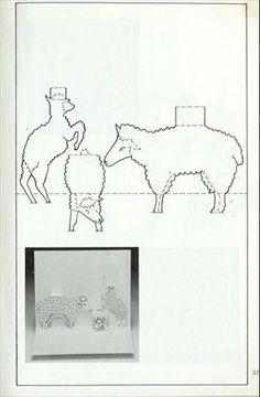 pop-up pattern- animals - pippi - Picasa Albums Web 3d Cards, Pop Up Cards, Paper Cards, Pop Up Card Templates, Tarjetas Pop Up, Stencils, Origami And Kirigami, Paper Pop, Paper Cutting