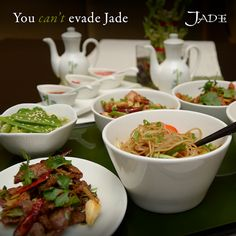Grab your chopsticks and dig in to the oriental spread at Jade!