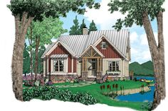 18 Small House Plans: Allegheny, Plan #1552