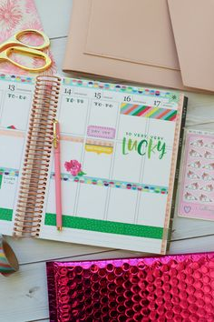 Here are TWO ways to use ONE set of washi tape in your planner layouts. One is in my Erin Condren LifePlanner and one in my Happy planner. These are easy decoration ideas that are also super affordable and fun! Passion Planner, Life Planner, Happy Planner, Washi Tape Planner, Washi Tape Set, Academic Planner, Best Planners, Planner Layout, Planner Supplies